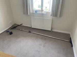Carpet stretch work in progress (A)