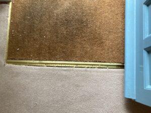 Carpet stretch before