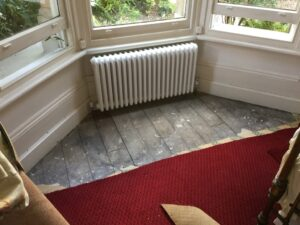 Carpet replacement & fit before