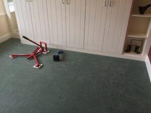 Carpet fit & stretch after