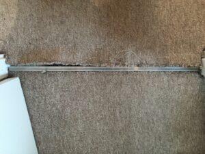 Carpet trim before