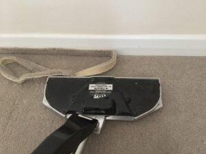 Carpet stretch work in progress (B)