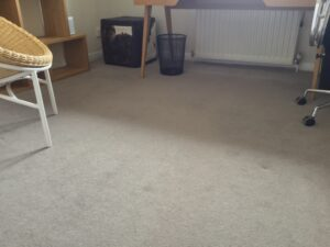 Carpet stretch after